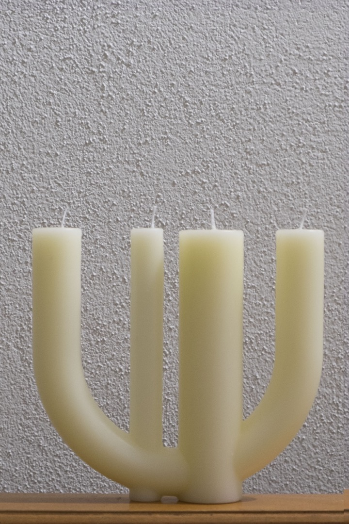 Candle 7 yellow - 1