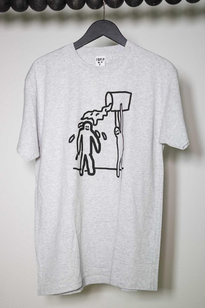 SQUIZZY P Schüdn T-Shirt heather grey