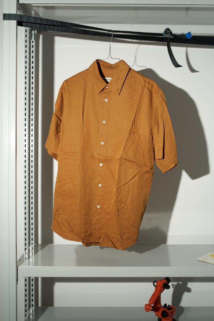 Banepa Shirt - Ochre 2