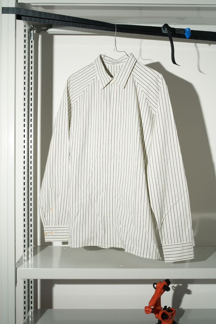 Lahan Shirt - Classy Stripes