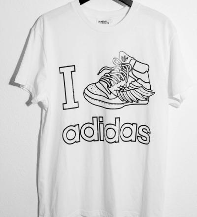 T-Shirt Jeremy Scott - ADIDAS