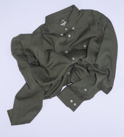 Narayan Shirt Olive KIND OF GUISE