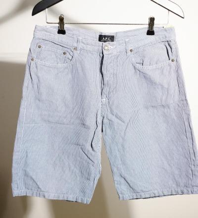 Striped Shorts - A.P.C.