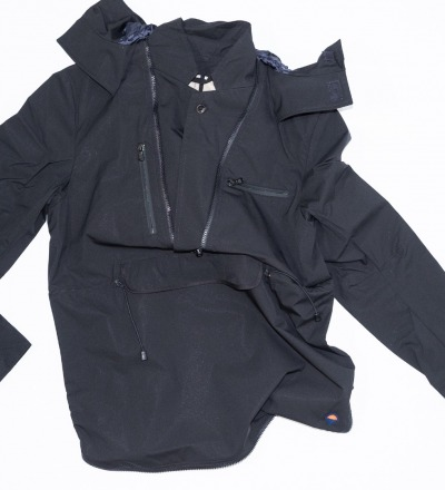 Pioneer Windbreaker - Black - GABRIEL