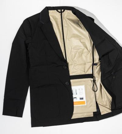 Pocketparachute Blazer - Black - GABRIEL