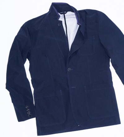 Pocketparachute Blazer - Navy Blue - GABRIEL STUNZ