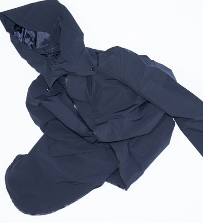 Raincoat - Navy Blue - GABRIEL
