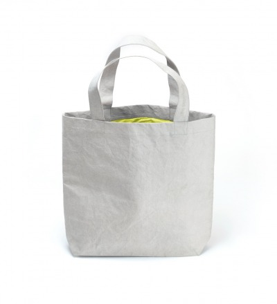 Paperbag NO 01 - Grey | Neon Yellow - THE PAPERBAG