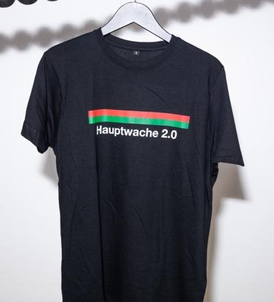 Hauptwache 2.0 T-Shirt black - HAUPTWACHE 2.0