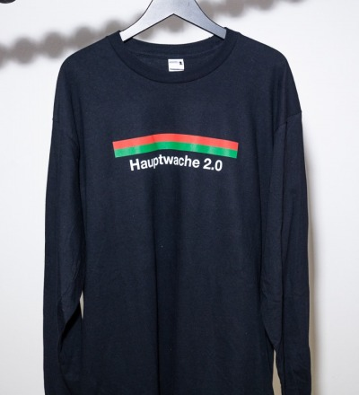Hauptwache 2.0 Longsleeve-Shirt black - Hauptwache 2.0