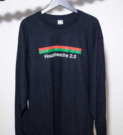 Hauptwache 20 Longsleeve-Shirt black - Hauptwache