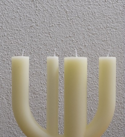 Candle 7 yellow - SILVIO REBHOLZ