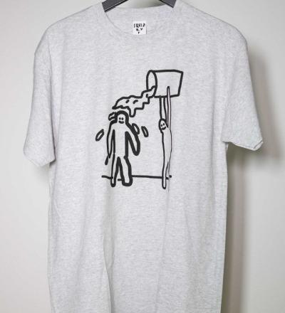 SQUIZZY P Schüdn T-Shirt heather grey - SQUIZZY P
