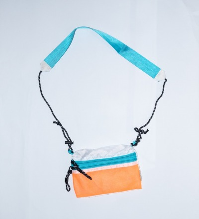 SACOCHE Small Orange & Teal - TAIKAN BAG