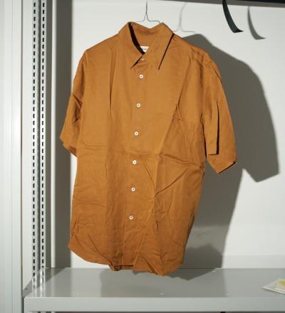Banepa Shirt Ochre KIND OF GUISE