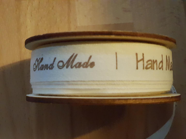 Baumwollband Handmade 15mm gold Etiketten DIY Aufnäher Aktiv