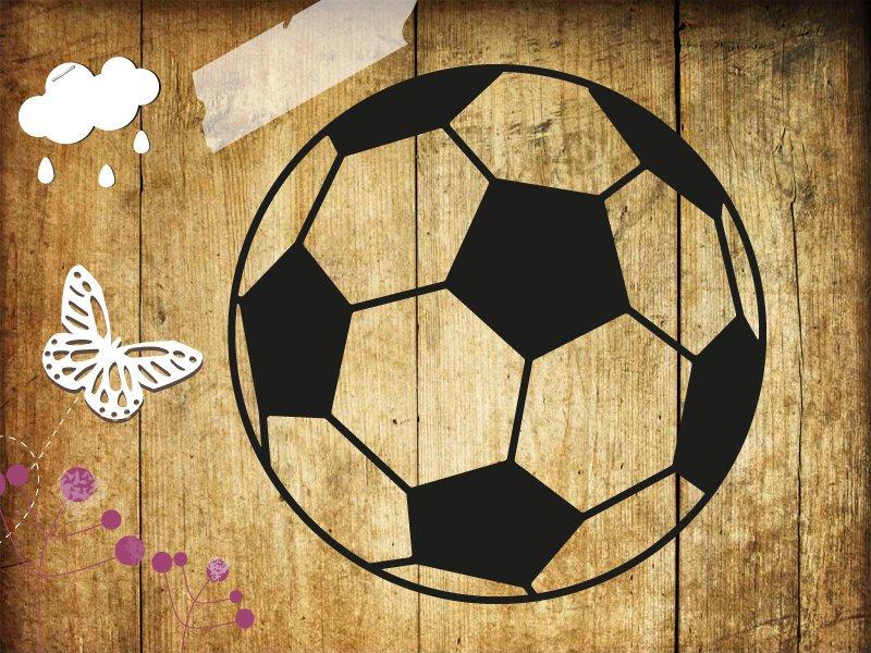 Buegelbild Fussball