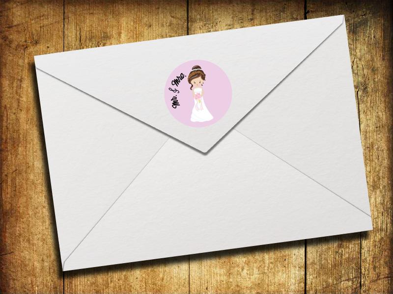 Sticker/ Aufkleber Mr. & Mrs. Hochzeit
