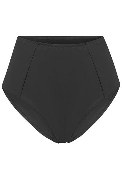 Recycling bikini panties Lorehigh black 2