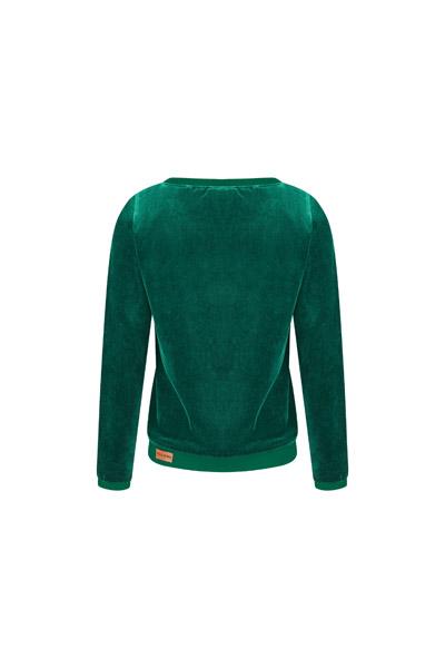 Bio Nicki Pullover Onne smaragd /petrol