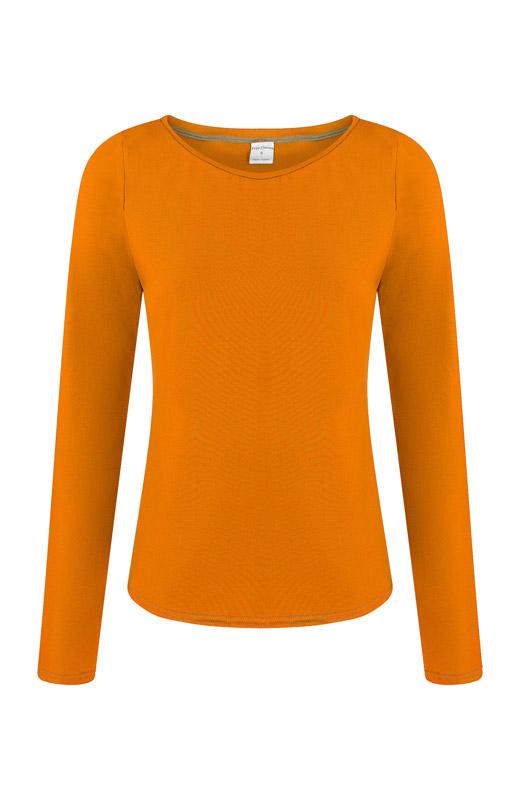 Bio Longsleeve Ubu orange