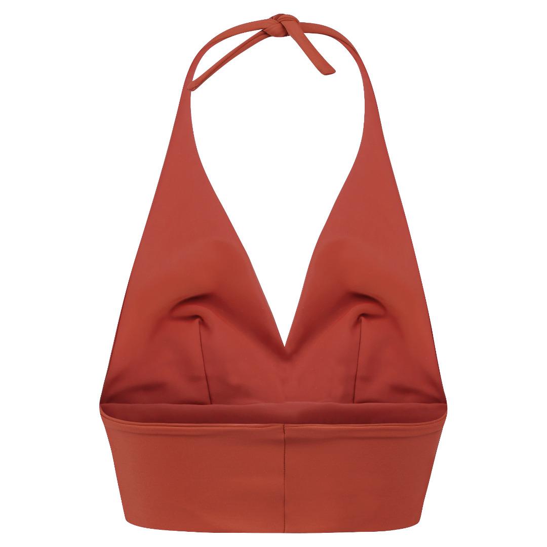 Recycling bikini top Fjordella rust 2