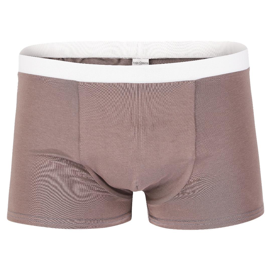 Bio Trunk Shorts Retro Shorts graubraun