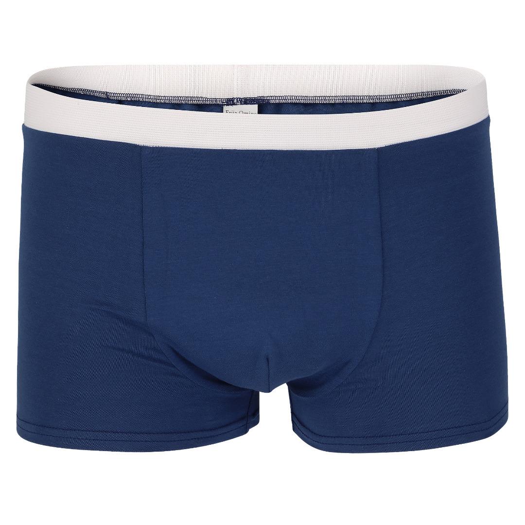 Bio Trunk Shorts Retro Shorts rauchblau