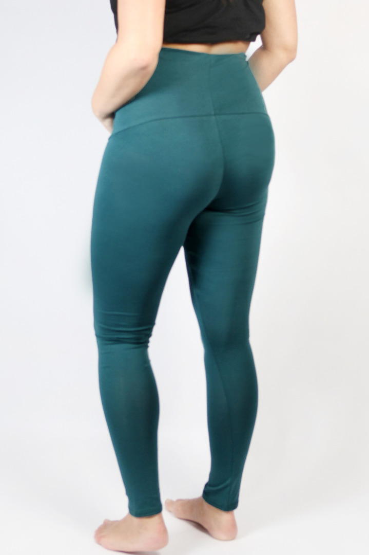 Bio Leggings Mama smaragd 2