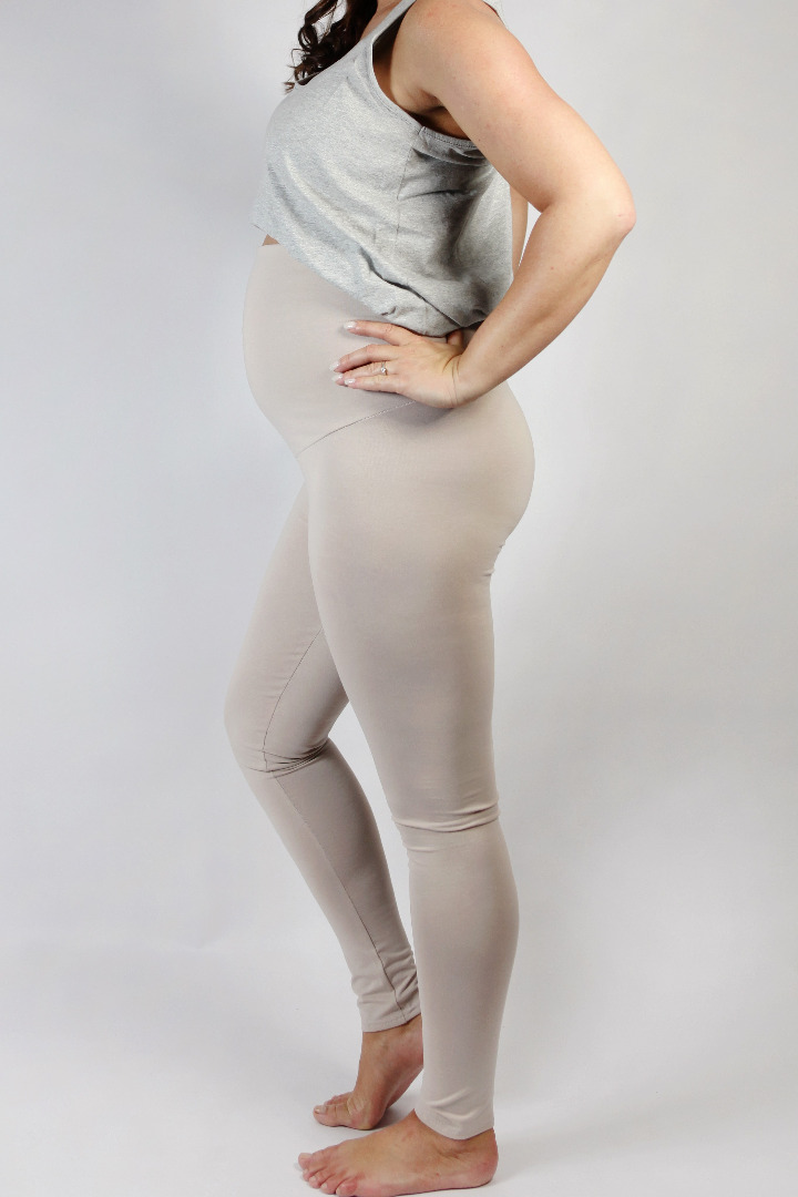 Bio Leggings Mama sand 2