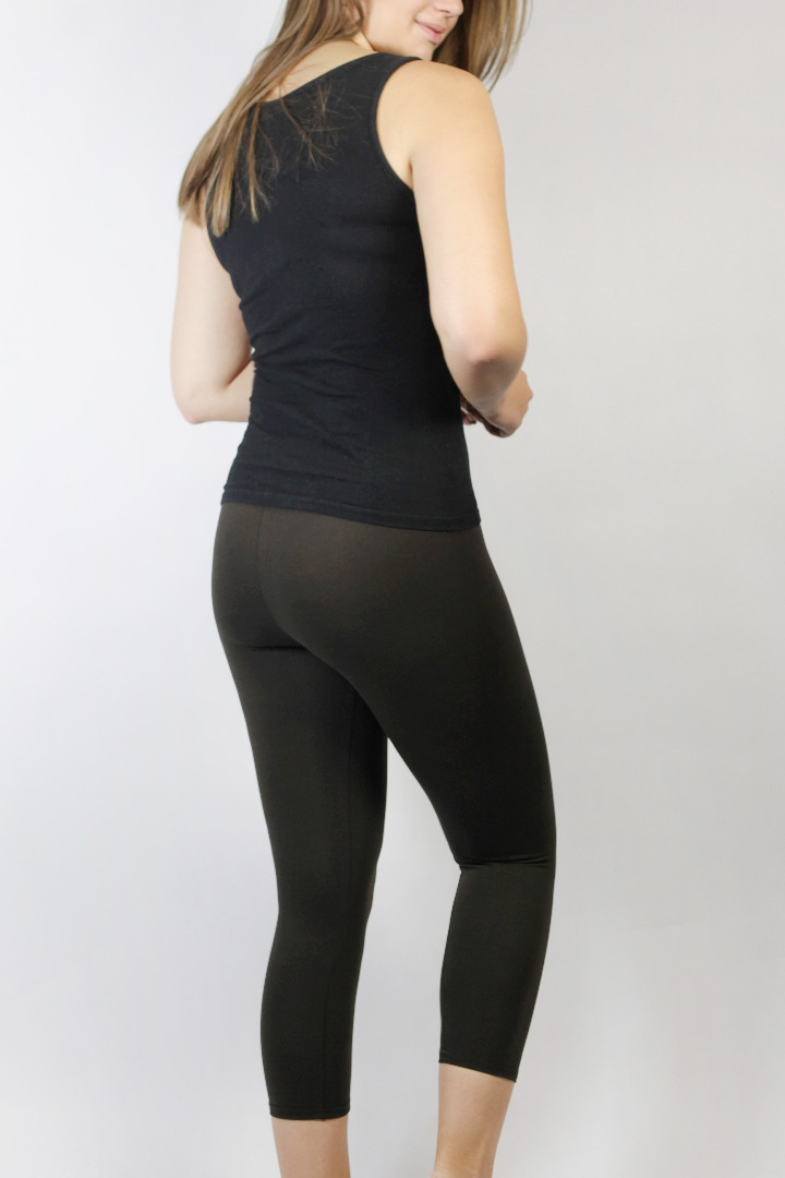 Bio Capri Leggings braun 3