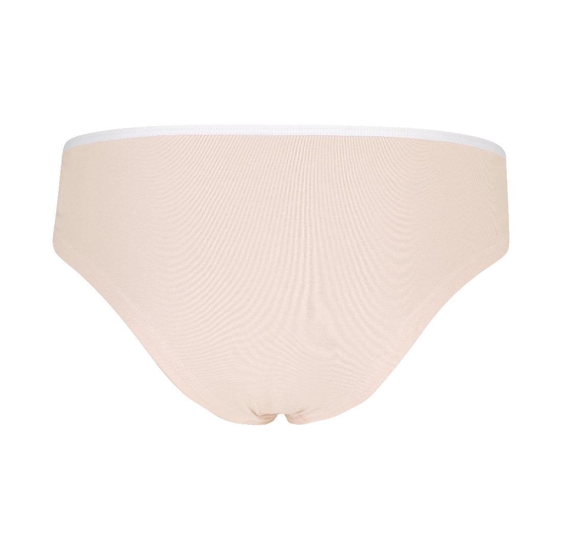 Organic hipster panties Lorelow nude grey
