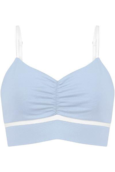 Organic Bustier light blue