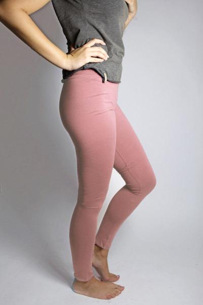 Organic Leggings antique pink