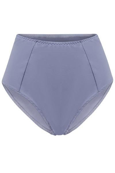 Recycling bikini panties Lorehigh grey