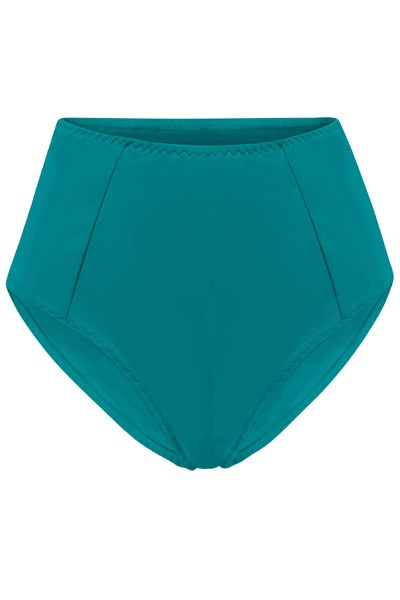 Recycling bikini panties Lorehigh smaragd