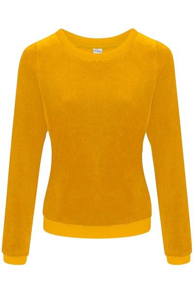 Organic jumper Onne mustard