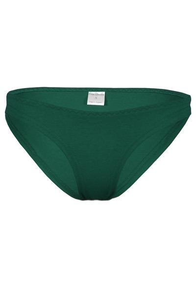 Organic briefs smaragd green