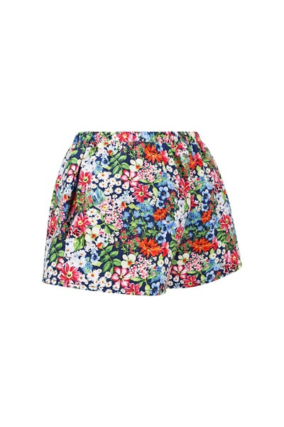Bio Shorts Smilla allover Blumen