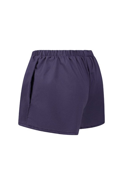 Organic women s shorts Smilla blue