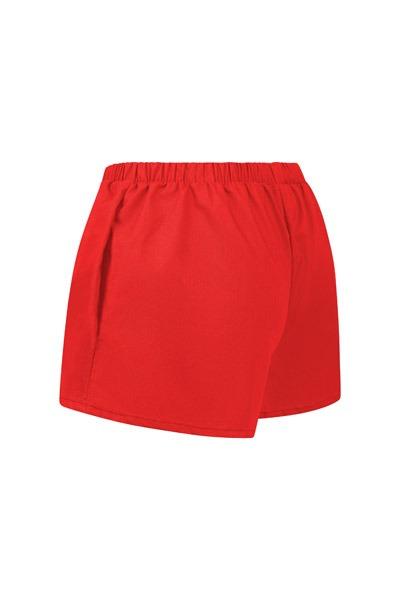 Organic women s shorts Smilla red