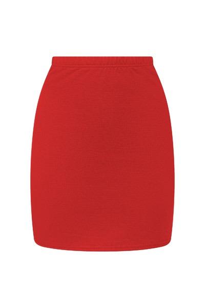 Organic skirt Snoba red
