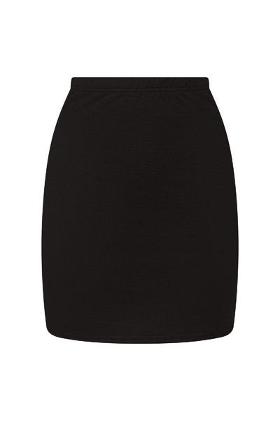 Organic skirt Snoba black