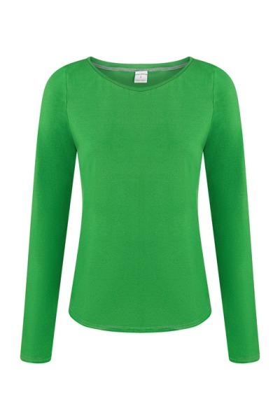 Organic long sleeve Ubu green