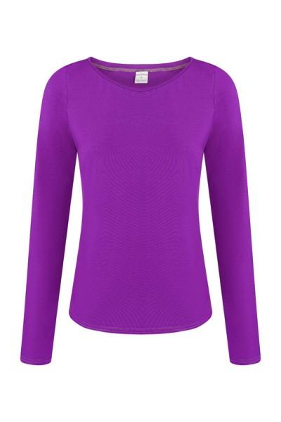 Organic long sleeve Ubu violet
