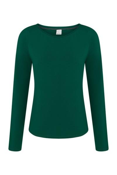 Organic long sleeve Ubu smaragd