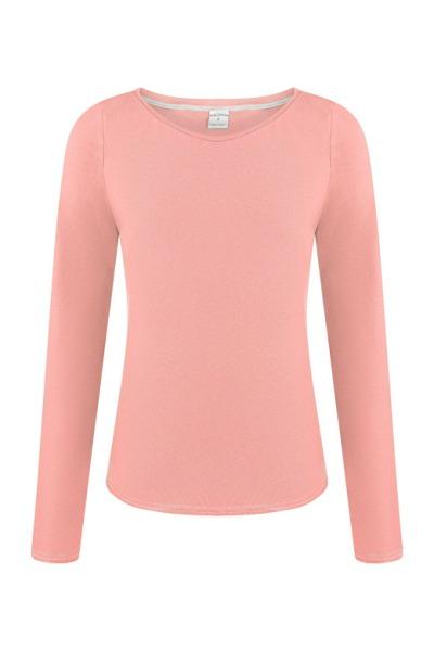 Organic long sleeve Ubu light pink