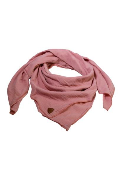 Musselin-Cloth/ Mull-Bandanna Skarna antique pink