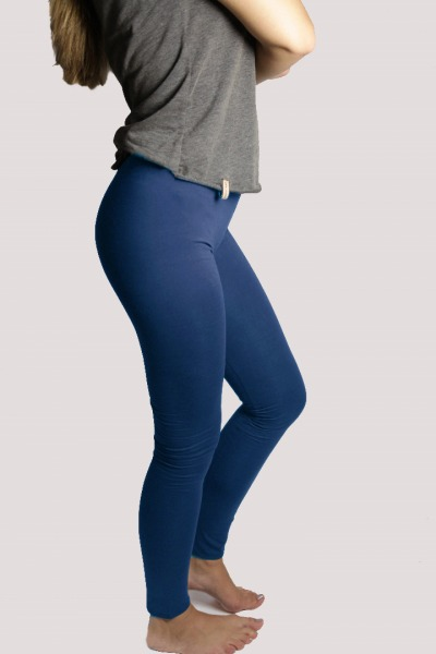 Bio Leggings dunkelblau
