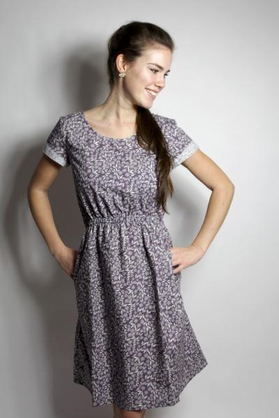 Bio Kleid Somrig Feldblumen braun